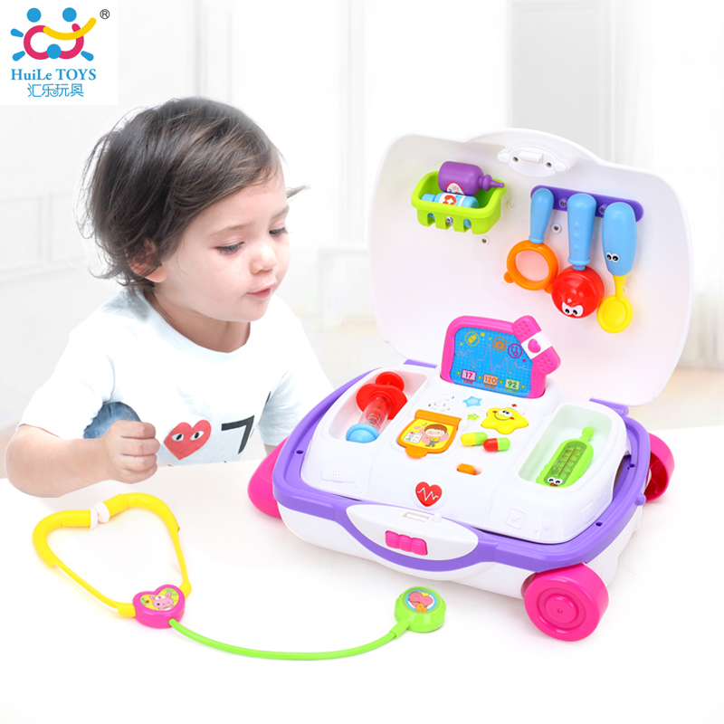 New Baby Toys : New baby toys kids doctor suitcase pretend play toy