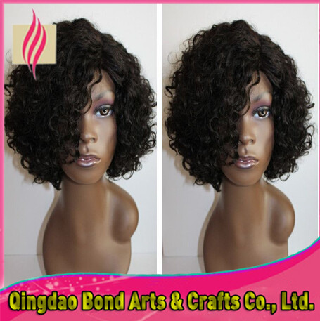 Здесь можно купить  Short curly lace wigs 6A grade glueless full lace wigs virgin peruvian human hair front lace wigs 130%density no shedding Short curly lace wigs 6A grade glueless full lace wigs virgin peruvian human hair front lace wigs 130%density no shedding Волосы и аксессуары
