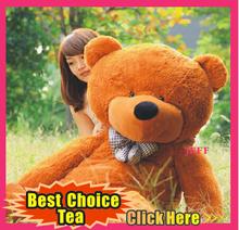 2015 New Teddy bear 100cm 120cm 140cm cartoon giant teddy bear plush toys stuffed panda bears plush animals big bear Toy