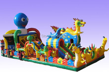 Manufacturers selling inflatable trampoline, inflatable castles, inflatable slide,YLY-027(China (Mainland))