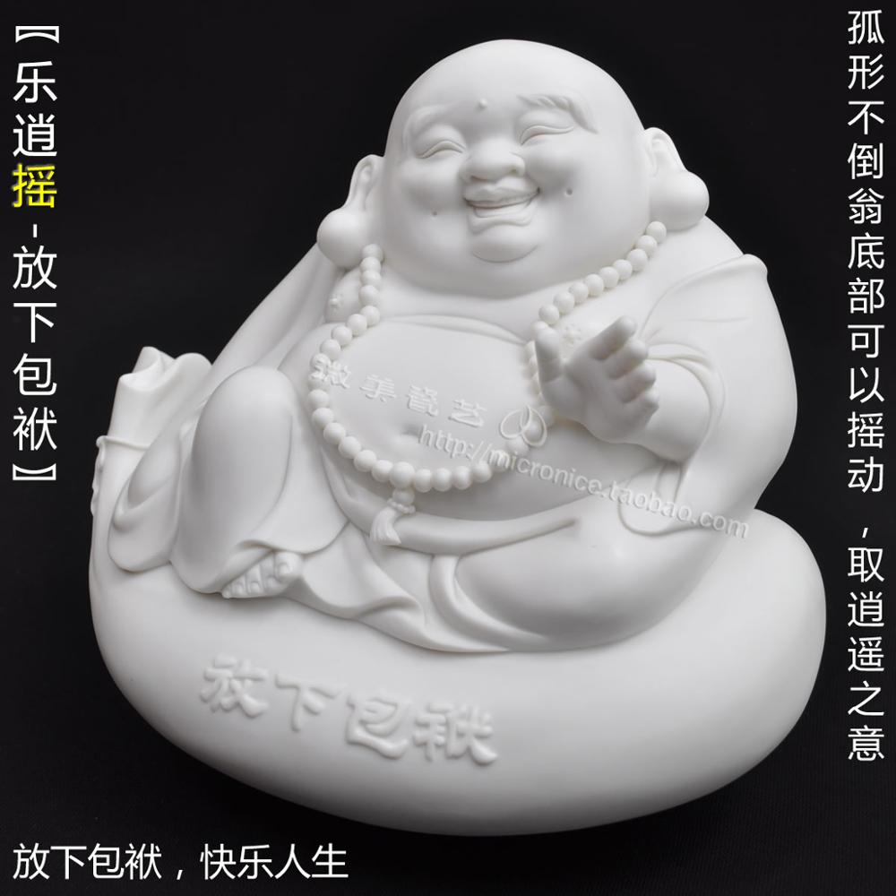 Le Maitreya Buddha to lay down the burden of business gifts to the big belly of the Buddha to send people in Dehua cute fashion(China (Mainland))