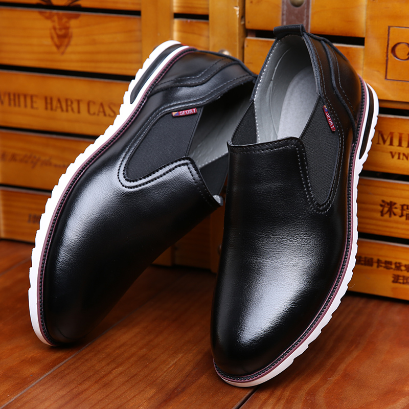 2016 Genuine Leather fashion men casual shoes, New ...