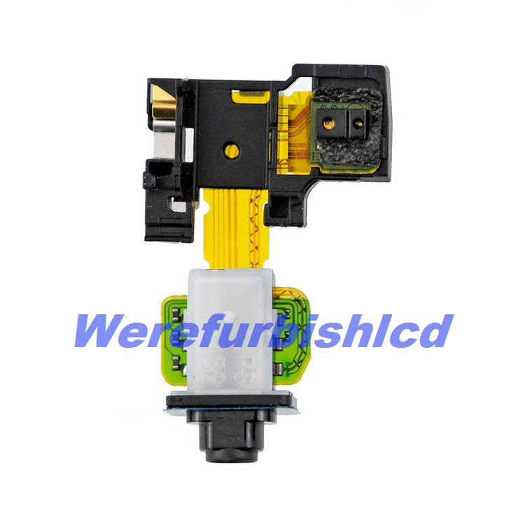 Original For Sony Xperia Z2 L50W earpiece earphone Jack flex cable D6503 Free shipping