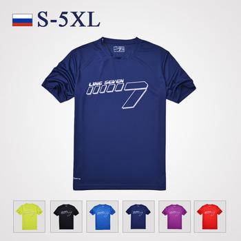 Большой размер s-5xl, спорт дышащий фитнес коротким рукавом футболка, бренд мужской классический круглый воротник пальто вершины и тройники работает фитнес