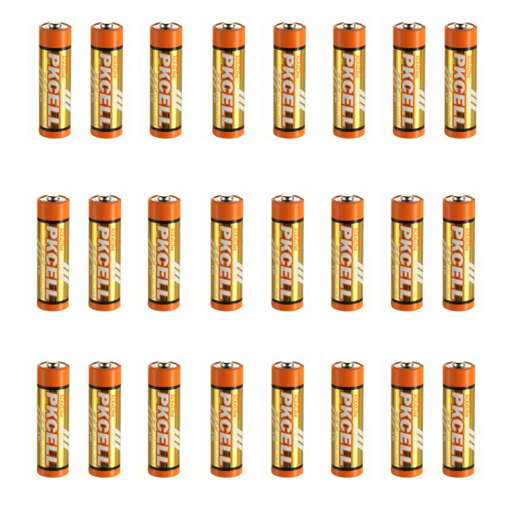 Bulk 24Pcs in Wholesale Price Super Alkaline LR6 AA 1.5V/360min Dry Battery for MP3, toys etc-PKCELL(China (Mainland))