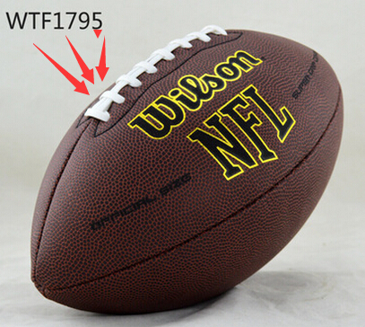 Rugby Ball Official Size 9 and Weight A+++ Quality American Football Standard Ball Ballon Rugby for Match For Free Shipping(China (Mainland))