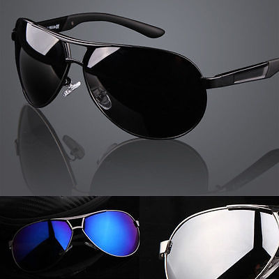 New Mens Polarized Aviator Sunglasses Mirrored Outdoor Driving Fishing Glasses(China (Mainland))