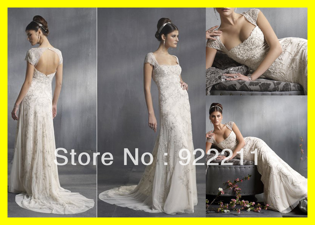 Mother Of The Groom Wedding Dresses Cowgirl Flowy Discount Plus Size Short Dress A-Line Floor-Length Court Train Em 2015 On Sale(China (Mainland))