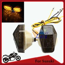 Flush Mount LED Turn Signal Light Motorcycle Indicator Blinker LED Flasher FOR SUZUKI GSXR750 600 1000 BANDIT 600S 1200S 1250S(China (Mainland))