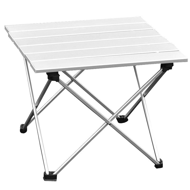 Camp Table Portable Foldable Table Home Furniture Camping Beach Picnic Aluminium Alloy Free Shipping(China (Mainland))