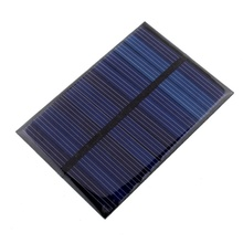 6V 0.6W Solar Power Panel Module DIY Small Cell Charger For Light Battery Phone Toy Portable Solar Cells Battery Phone charger(China (Mainland))