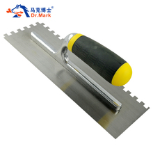 Diente de sierra paleta pintura del piso herramientas de construcción Light float herramientas