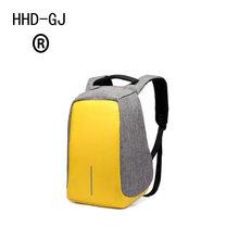 HHD-DJ USB зарядка Противоугонный рюкзак Для мужчин Дорожная безопасность Водонепроницаемый школьные рюкзаки для подростков, мужской 15-дюймов...(China)
