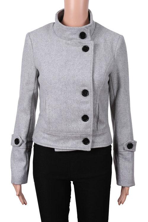 alta calidad 2014 nueva primavera nuevo estilo abrigo mujeres button