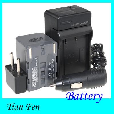 Hot Sale 1pcs Battery +Charger SB-L220 SB L220 SBL220 Rechargeable Camera Battery Samsung SB-LS70AB SB-L110 SB-L70 SB-L70A