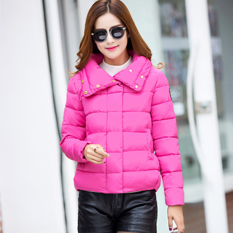 Winter Slim female short cotton padded parka short down coat women winter coat women cotton jacket for female short jackets TT81Одежда и ак�е��уары<br><br><br>Aliexpress
