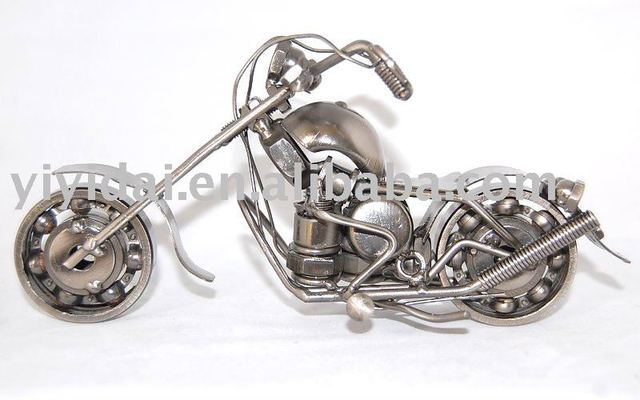 Free shipping New 100% Hand made Designer metal crafts  motorcycle model wholesale retail