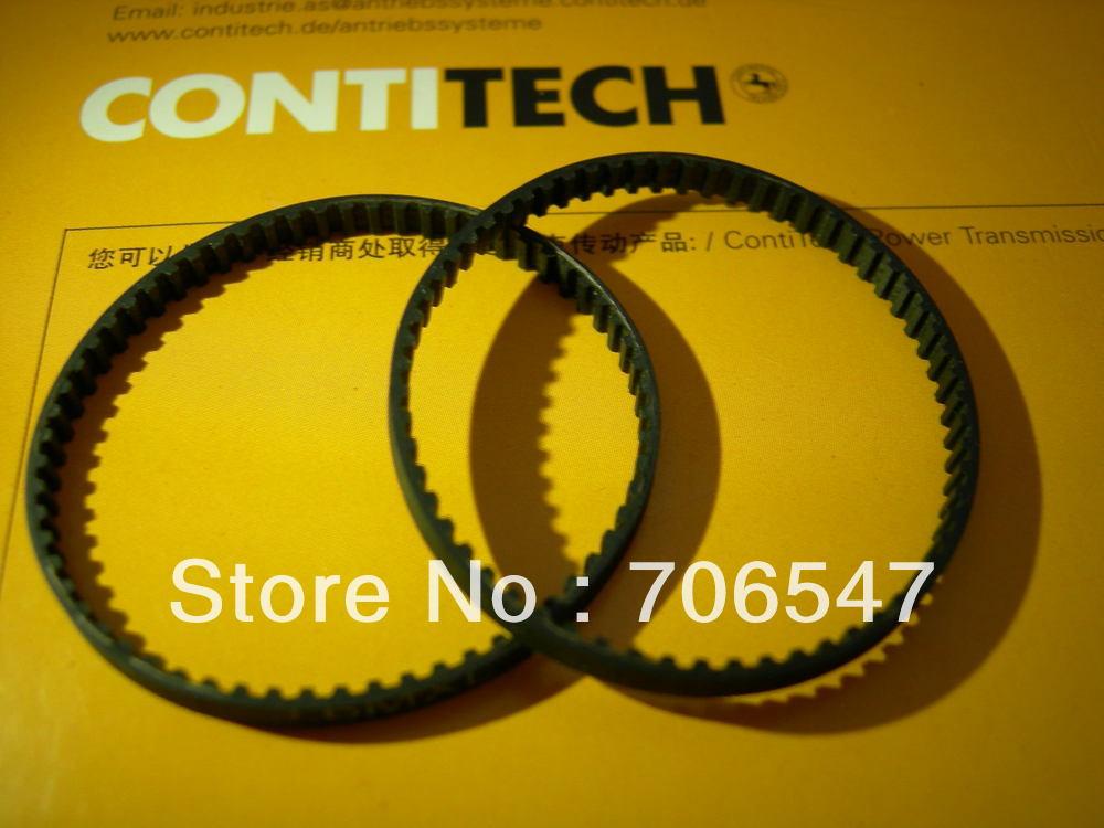 Free Shipping10pcs 124 GT2 6 3d printer belt closed loop rubber GT2 timing belt 124 GT2