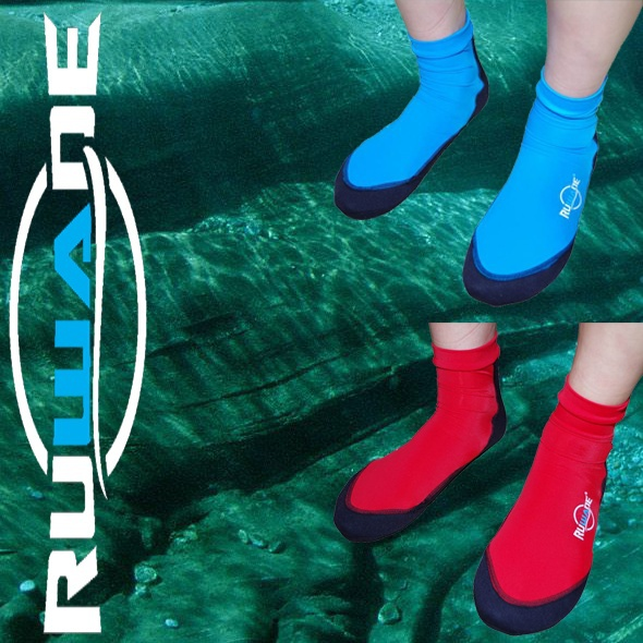 RUWADE lycra beach socks with neoprene and antislip sole,used for diving surfing swimming,lighter than shoes boots(China (Mainland))