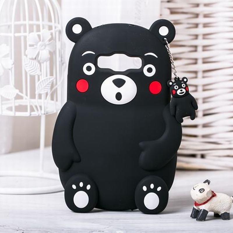 Samsung Galaxy J7 Case Silicone Cartoon Cute Kumamoto Bear Phone Carcasa Cover 3D  -  Fei Long store