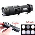 CREE Q5 2000Lumens Cree led Torch Zoomable Tactical Waterproof LED Flashlight Torch Light 3 Modes For