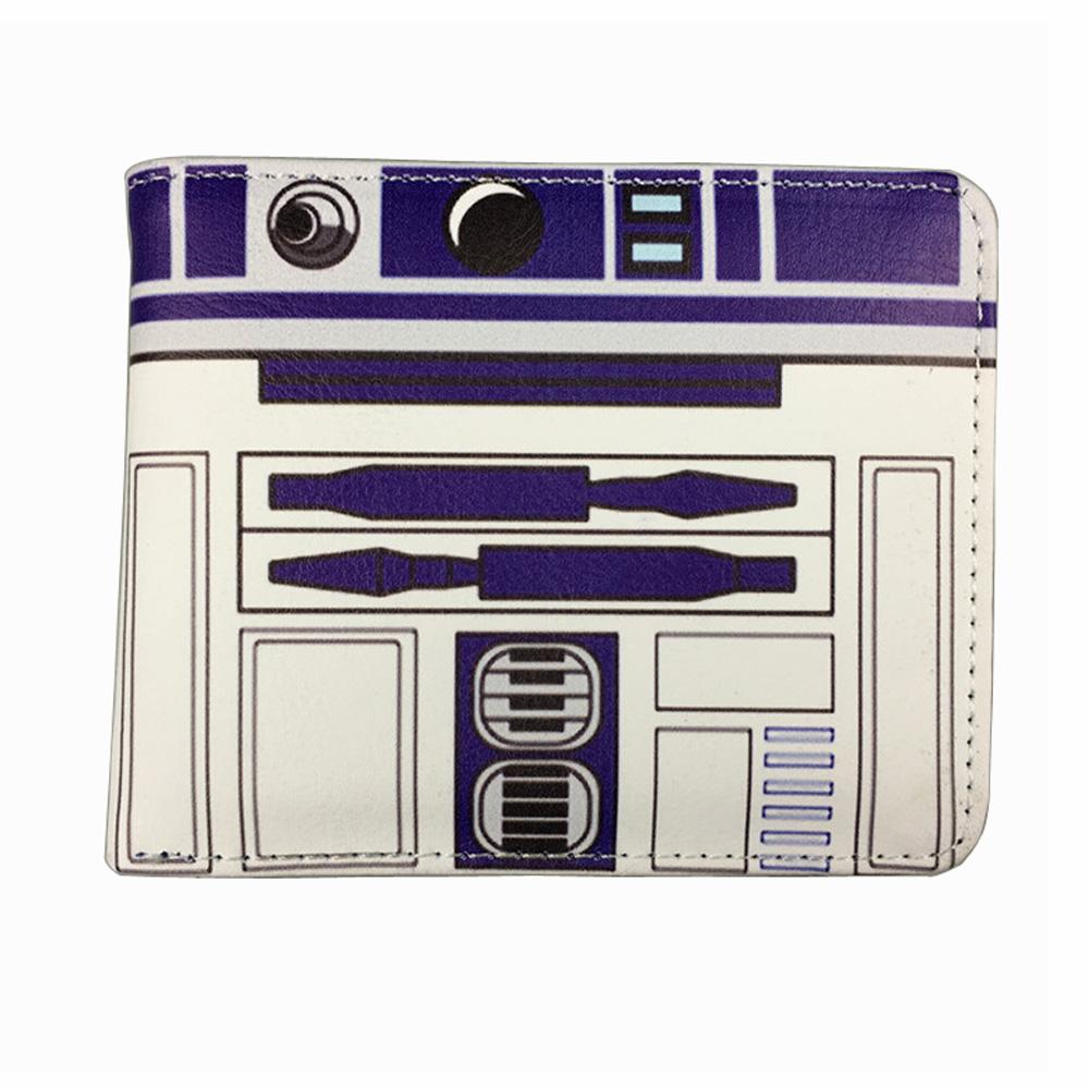 Star Wars StarWar animation film surrounding the Black Knight R2-D2 Bai Bing wallet wallet<br><br>Aliexpress