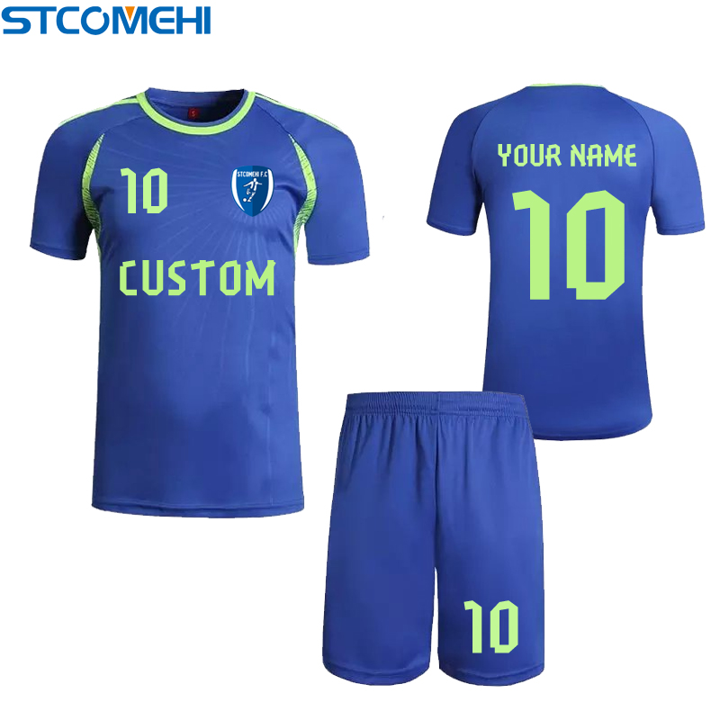 stcomehi 2016001# soccer jerseys football jersey custom logo number individualized customization for four color soccer jersey(China (Mainland))