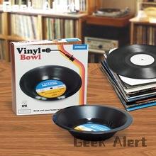 Soul Music Feast ! Spinning Hat Retro Vinyl Record Bowl (China (Mainland))