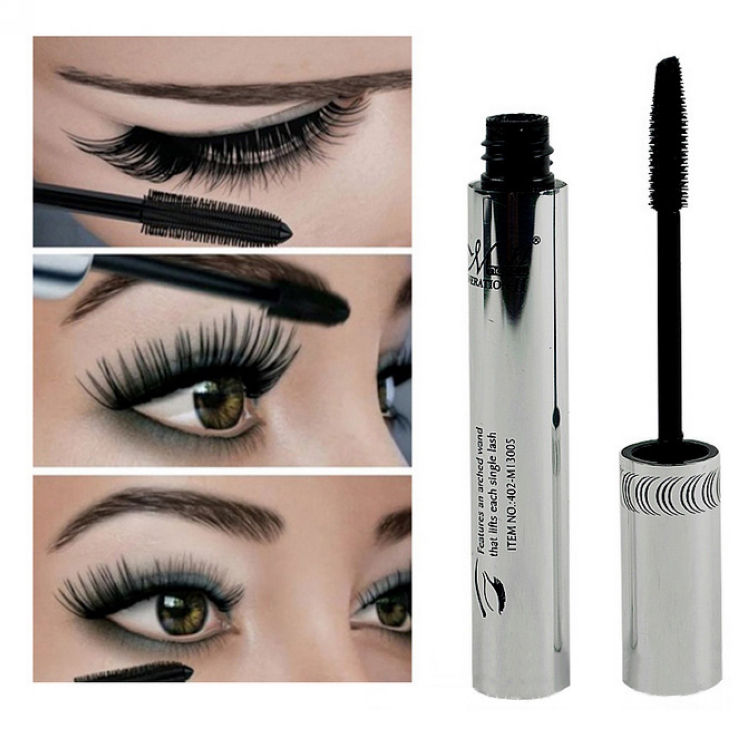 Гаджет  2014 New arrival brand Eye Mascara Makeup Long Eyelash Silicone Brush curving lengthening colossal mascara Waterproof Black 6.5g None Красота и здоровье