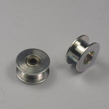 2pcs/lot Free shipping 3D printer DIY reprap toothless belt idler pulley aluminum wheel 3mm hole Peilin