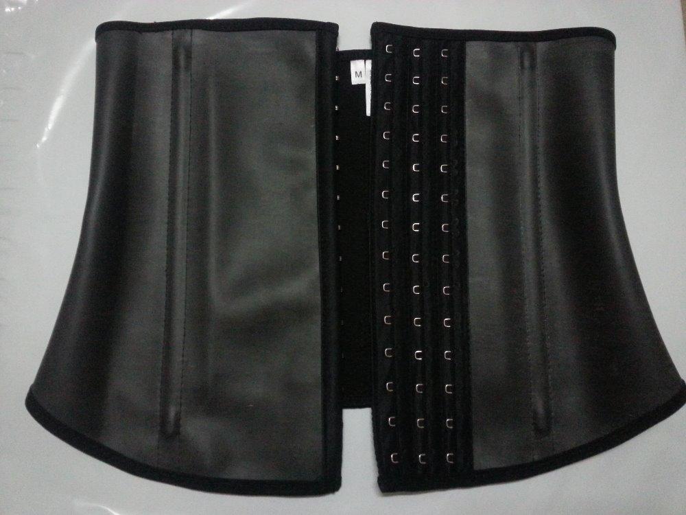 Top Quaity XS-XXXL 100% latex vest waist cincher for women Firm Compression Miracle latex Vest waist training Shapewear(China (Mainland))