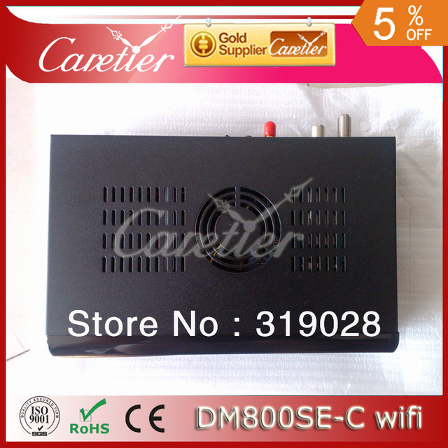 2013 free shipping cabling DM 800HD SE Cable tuner DVB-C tuner +300Mbps Wifi build in (4pcs 800se-C WIFI)