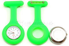 Free Shipping High Quality Brand New Silicone Nurses Brooch Fob Watches Medical Nurse Watch C10