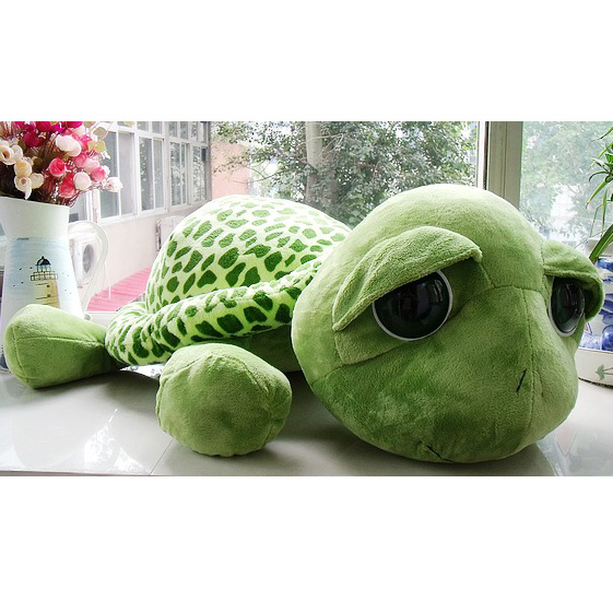 1Pc 40cm Super Cute Big Eyes Turtle Tortoise Doll Stitch Plush Toys Baby Turtle Gift Toy For Kid Birthday T0610 T150.7(China (Mainland))