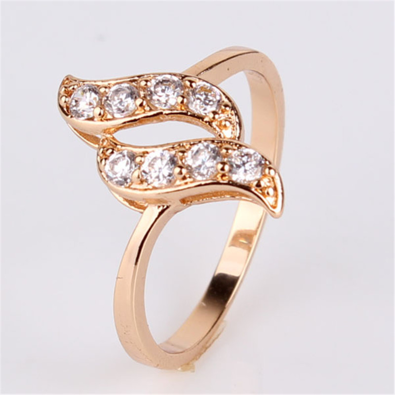 fashion rings for 2015 18k gold plated ring unique