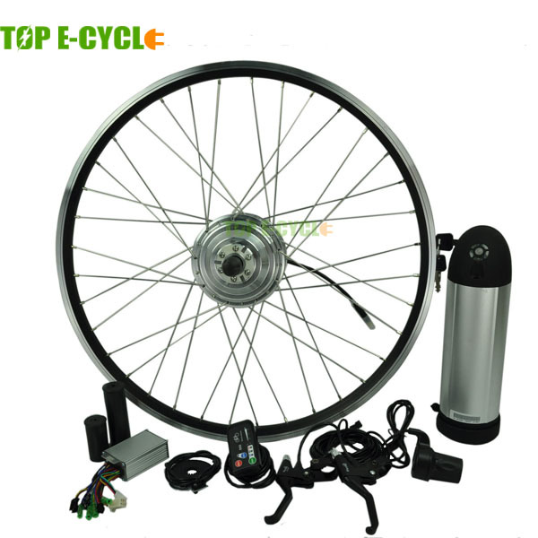 TOP e-cycle 350W electric bike conversion kits with lithium battery(China (Mainland))