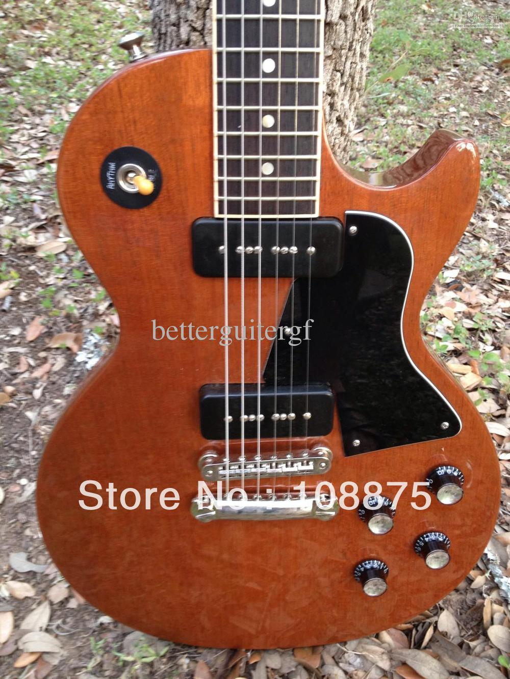 -Top Musical instruments New Arrival Special Rosewood Neck Lollar Pickups Tonepros Hardware100% Excellent Quality100% Excellent(China (Mainland))