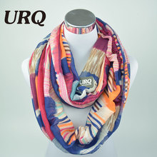 Designer Brand Fashion Infinity Scarfs Winter Warm Plaid Print Tube Scarves For Women V8A18213(China (Mainland))