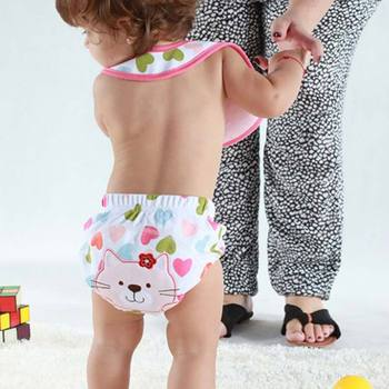 5 Style Newest Toilet Pee Potty Training Pants Cloth Diaper Underwear Babysuits For Baby Boy Girl
