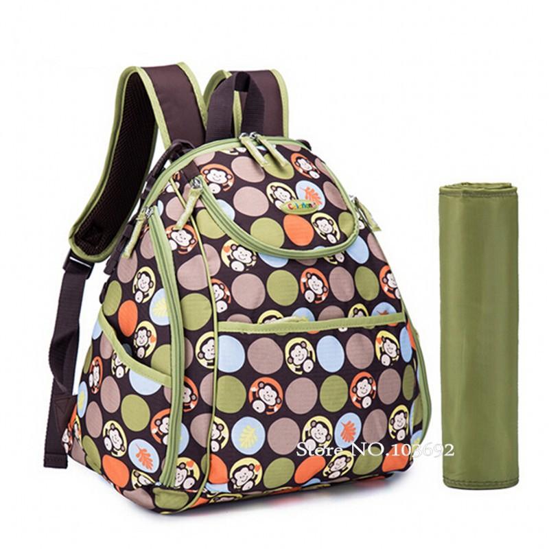 buy 5multicolors high quality baby bag waterproof baby diaper bag backpack for. Black Bedroom Furniture Sets. Home Design Ideas