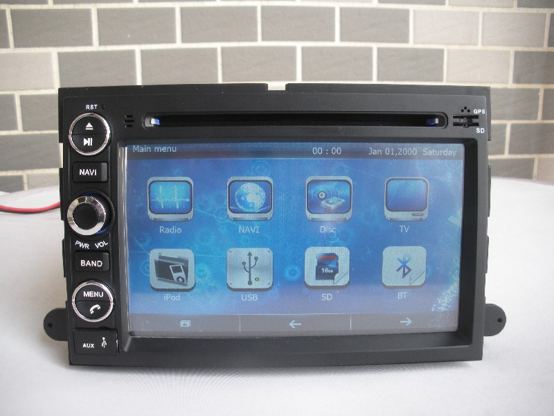 Car Radio Audio DVD Player GPS For Ford Fusion Edge Explorer Expedition 500 Mustang Wholesale/Lot Free Shipping(China (Mainland))