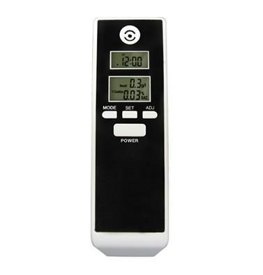 drive safety Professional Police Digital Breath Alcohol Tester Portable alcohol tester with Dual LCD screen Display(China (Mainland))