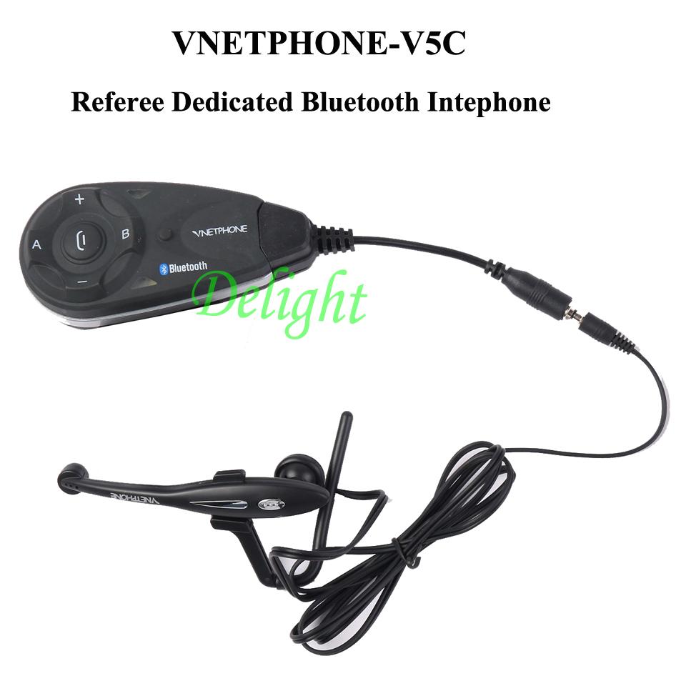 5 Referees To Communicate Bluetooth Referee Intercom 1200m Same Time Full Duplex Talking Referee Helmet Interphone BT Headset(China (Mainland))