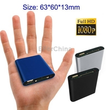 Mini Full HD 1080P HDMI MultiMedia HDD player with SD/MMC Card reader/HOST Function, External HDD, Size: 63*60*13mm(China (Mainland))