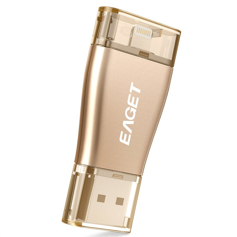 Eaget i50 OTG USB 3.0 32GB Flash Drive Pen Drive Micro Interface For iOS PC Tablet 64GB Pendrive U Disk Memory Stick For iPhone