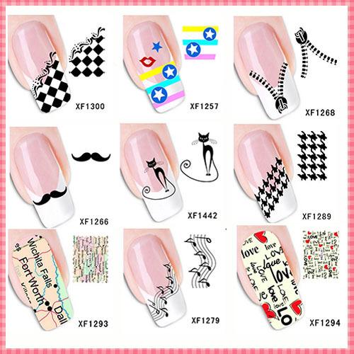 Наклейки для ногтей Brand New 2015 3D 9 DIY JN001 наклейки для ногтей brand new 50 3d fimo diy n a