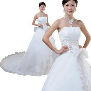 2013 cheap modest wedding dresses plus size bridal dresses for All white wedding dress