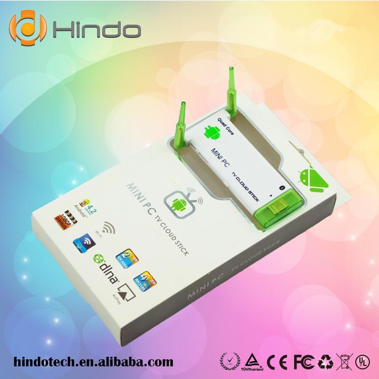 J22 Android 4.4 Miracast Dongle Rockchip RK3188 Quad Core 2GB Ram 8GB ROM Dual WiFi Antenna Bluetooth Free Shipping(China (Mainland))