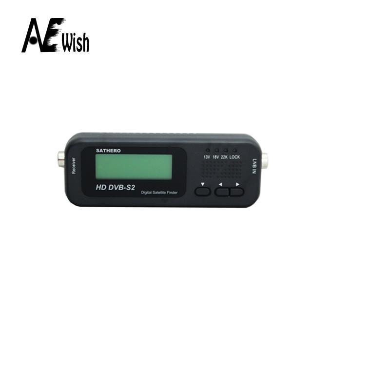 Anewish Original Sathero Pocket Digital Satellite Finder Meter SH-100HD HD DVBS2 USB 2.0 Signal Digital Sat Finder HD(China (Mainland))
