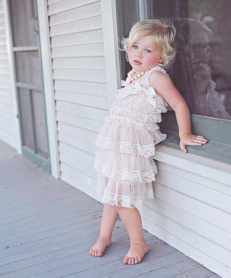 Vintage Lace Bridesmaid Dress